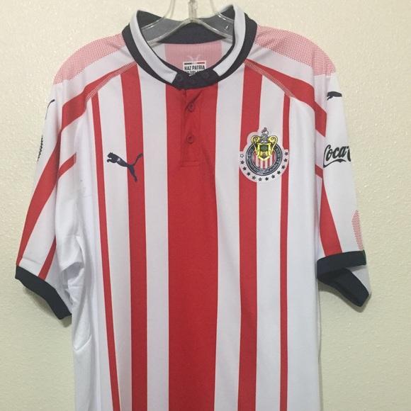 a067caf3f06 New Chivas Puma Mens Soccer Jersey Futbol